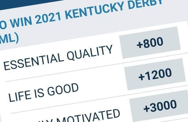 kentucky derby future odds betting