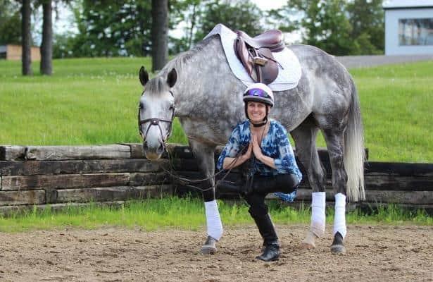 Woodbine jockey Ryan 'pain free' thanks to yoga regimen