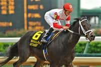 Accredit captures the Churchill Downs Handicap on Derby Day