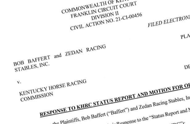 'Not a scintilla of truth,' Baffert attorneys blister Ky. commission