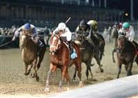 Gemologist wins the Kentucky Jockey Club