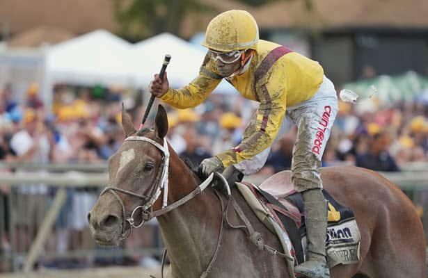 Favored Clairiere prevails in Cotillion to earn first Grade 1 win