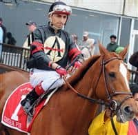 Ginger Punch with Rafael Bejarano up
