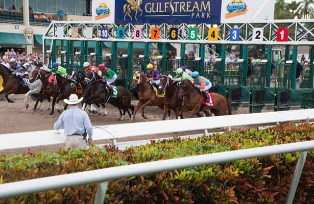 Gulfstream Park opening day puts end to post-time drag