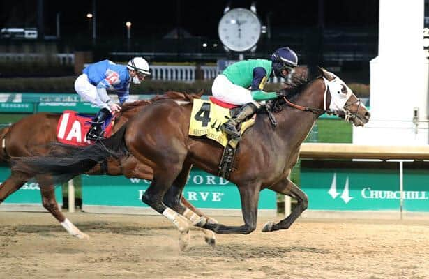 Keepmeinmind goes last-to-first in Kentucky Jockey Club