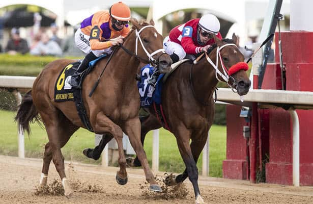 Letruska spoils Monomoy-Swiss party to win Apple Blossom