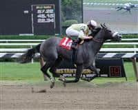 My Happy Face romps at Saratoga (8-31-12).