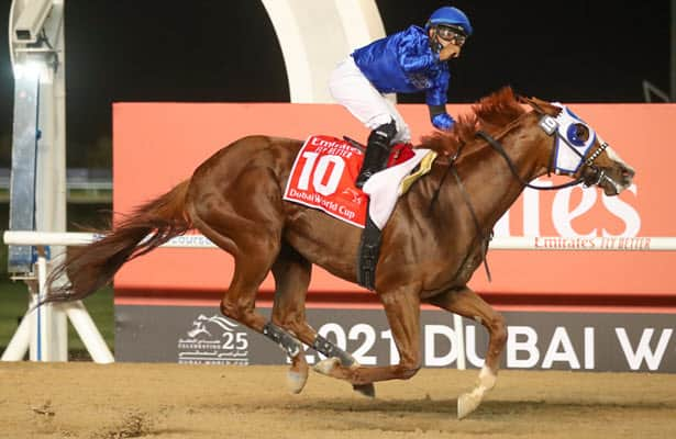 Who are the 3 most exciting older horses for second half of 2021?