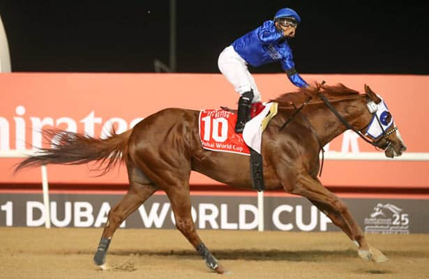 Mystic Guide powers to 3 3/4-length win in Dubai World Cup