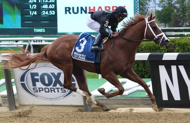 Promise Keeper wins the Peter Pan; Belmont Stakes could be next