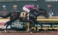 Tiznow captures the 2000 Super Derby at Louisiana Downs