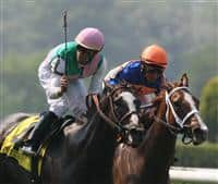 Ventura wins the 2008 Just A Game as Belmont Park